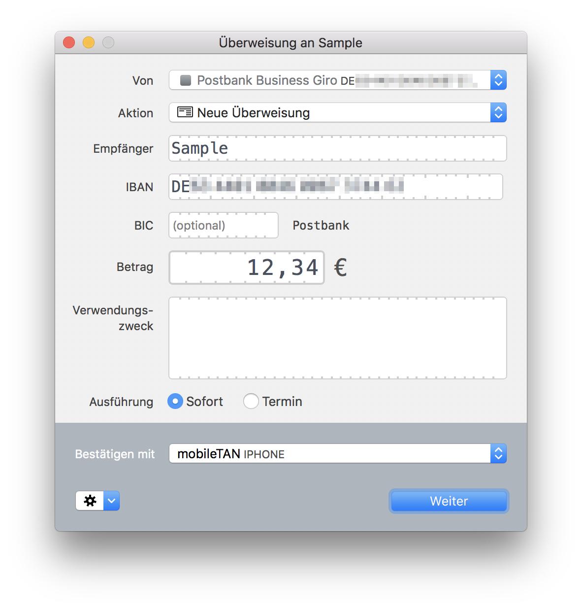 receipts mac app help receipts